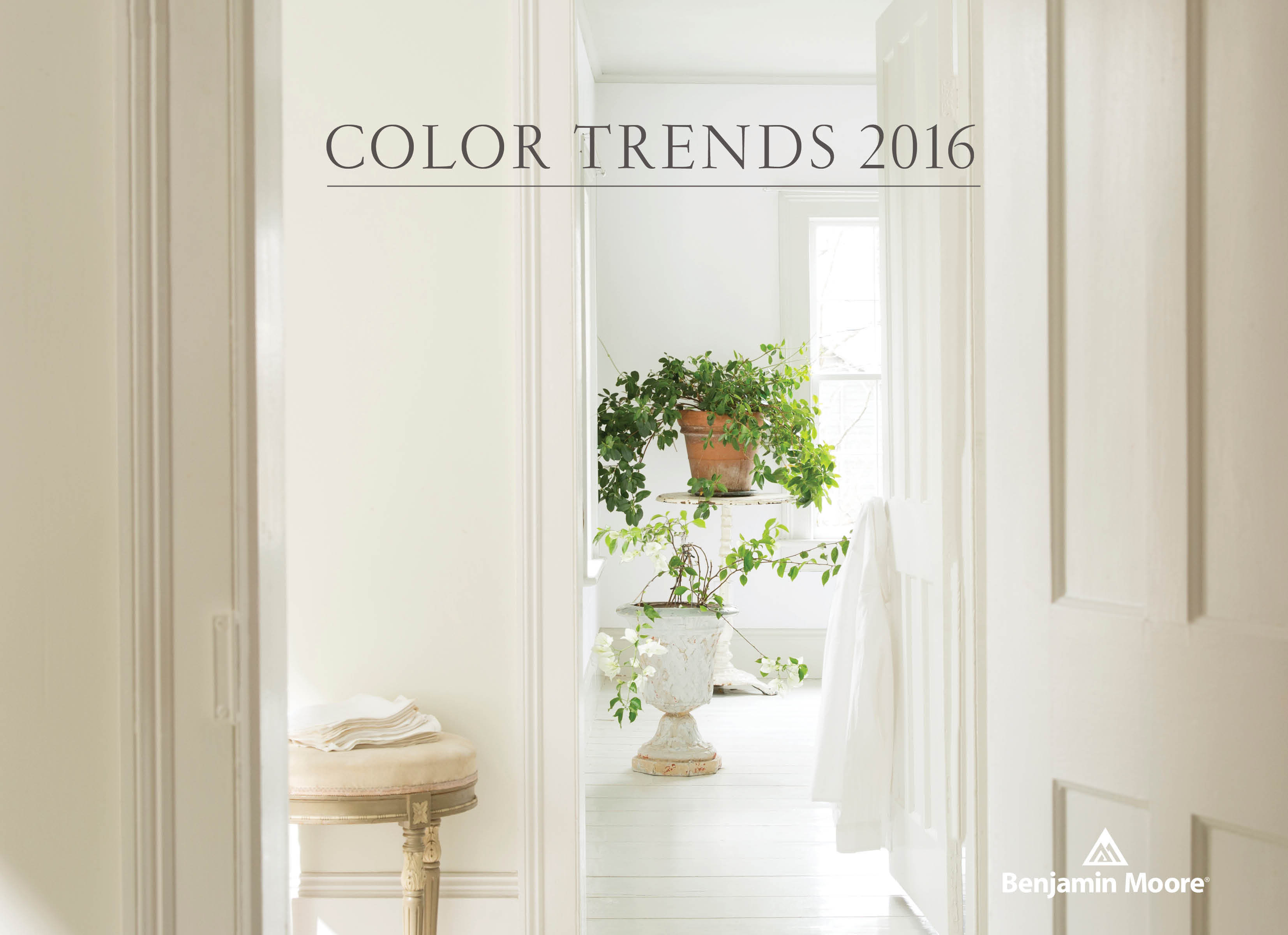 Color trends 2016 oc 117 simply white benjamin moore Paint color of the year